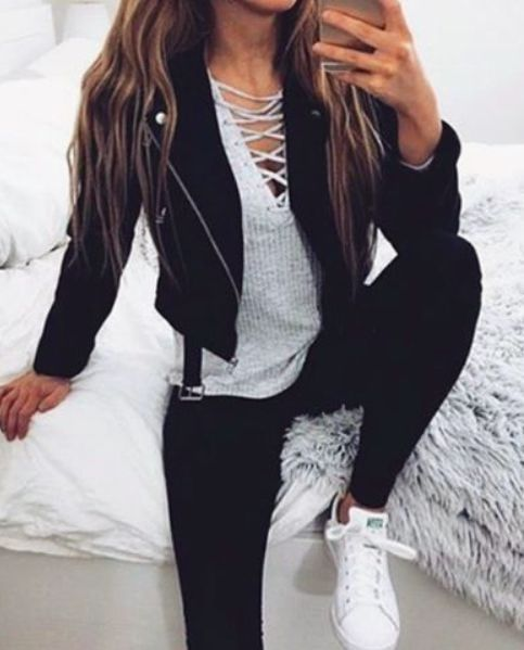 All White Outfits With Blazer For Women
