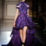 Absolutely amazing Zuhair Murad purple dress |