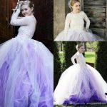 Amazing Light Purple And White Tulle Bridal Gowns Sexy Backless Lace  Appliques Wedding Dresses 2018 Ball Gown Custom Made Vestidos Pink Dresses  Wedding