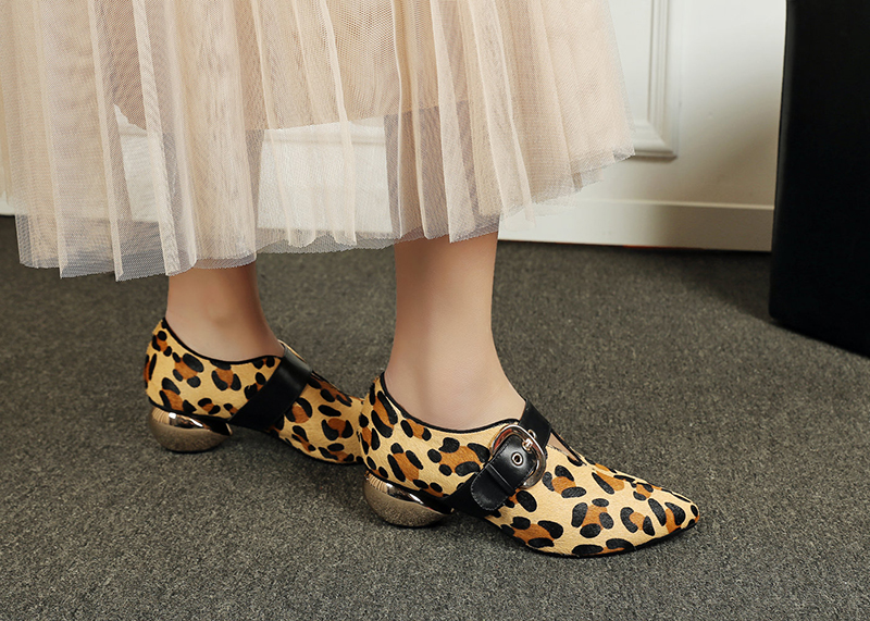 Animal Print Shoes for Fall