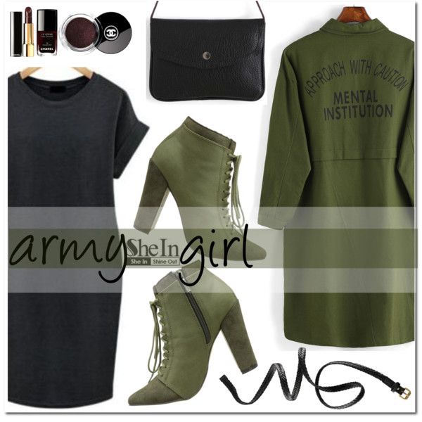 Army Inspired Fashion Trend