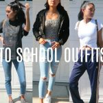 6 BACK TO SCHOOL OUTFIT IDEAS 2017 - 2018 | virtuallykobe
