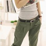 Street Style Military Pants and Army Trousers For Women (2)
