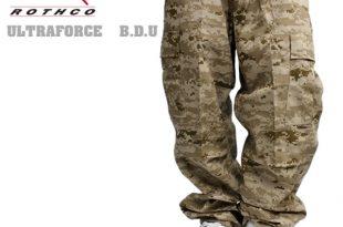 Rothco bdu cargo pants desertdigkamo military army dance costume Camo duck  Street B series STYLE8650
