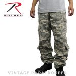 Rothco pants vintage ACU dig Camo military Ultraforce Vintage Paratrooper Pants  army dance costumes duck Street B-