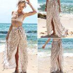 2019 Summer Women Skirts 2018 Gold Sequin Long Split Skirt Beach Dress For  Womens Hight Waist Fashion From Lin_and_zhang, $18.29   Traveller Location