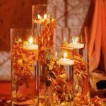 Beautiful Fall Wedding centerpiece