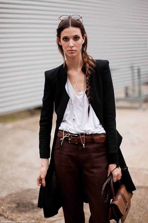 Belted Street Style Looks