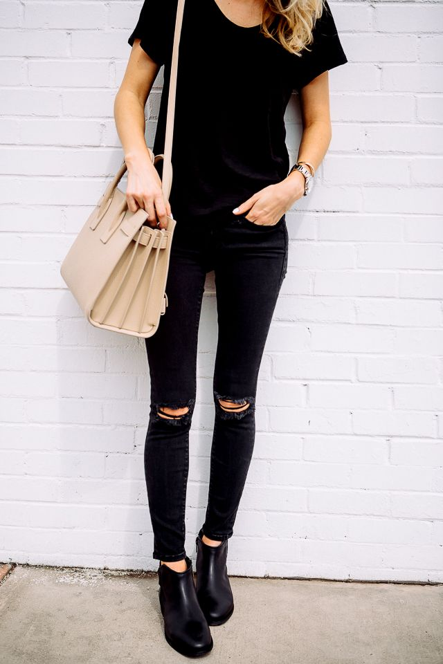 Black Bags Outfit Ideas