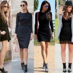 Black Dresses With Ankle Boots