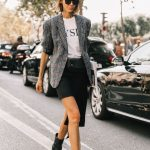 Plaid Blazer outfit ideas | SamCora Blog