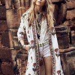 Boho Look - Bohemian hippie chic bohème vibe gypsy coachella festival  fashion