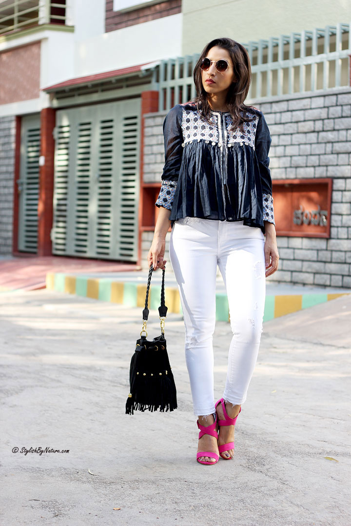 Boho-Chic Queen Style Peasant Tops