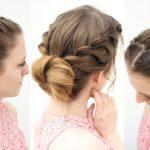 3 Easy Everyday Bun Hairstyles | Work Hairstyle ideas | Braidsandstyles12