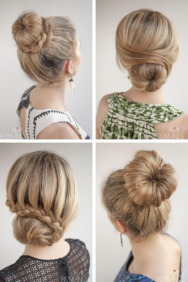 Bun Hairstyle Ideas