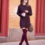 Burgundy & Red Street Style Trend