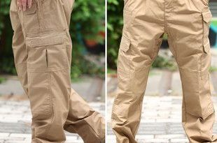 Tactical Pants Casual Cargo Pants Plus Size Men Army Soldier Combat Trousers  Travel Work Multi-