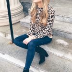 eopard holiday party outfits - casual holiday party look on pinteresting  plans fashion blog