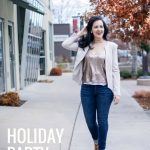 Holiday Party Outfit | Casual Party Look | Holiday Style | Christmas party  outfit | Glitter