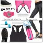Clothing Ideas For Active Women: Gym, Yoga, Run and Sports Activities 2019