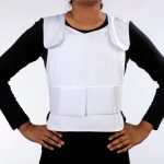 Concealable Cool Vest, white, with nontoxic cooling packs
