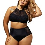 2019 Plus Size Swimwear Swimsut 2018 Chubby Women Large Size Two Piece  Bikini Set Crochet Swimwear Summer Beach Wear Swimsuit Bathing Suit From  Carmenleejm,