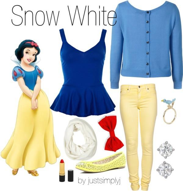 Cute Cartoons Inspired Outfits