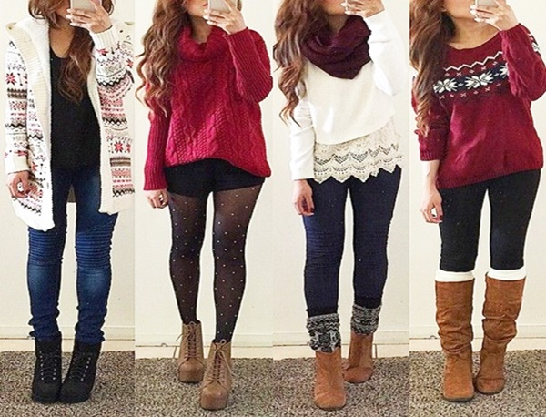 Cute Christmas Outfit Ideas