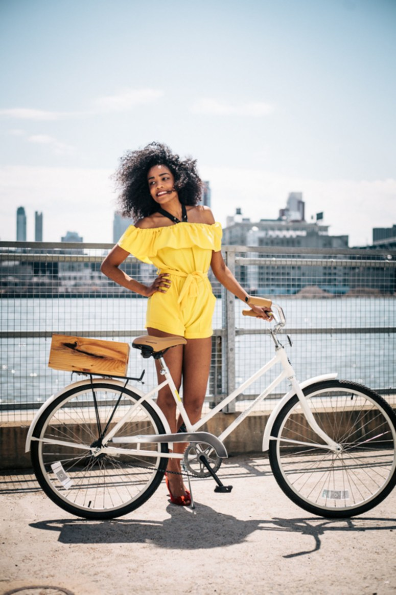 Cute Summer Outfits That You Can Ride a Bike