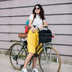 Cute outfit ideas you can ride a bike in