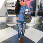 cute airport outfit idea pinterest fall 2018, airport-travel-outfit -pinterest-