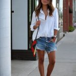 15 Reasons to Style Denim Shorts With a White Shirt This Summer |  StyleCaster