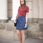 a-line-denim-skirt-outfit-ideas