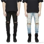 2019 New Slim Fit Ripped Jeans Men Hi Street Mens Distressed Denim Joggers  Knee Holes Washed Destroyed Jeans For Men From Chaoshuai518, $33.14 |  Traveller Location