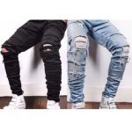 """Blckfashion on Instagram: """"Now available in limited quantities Hand Distressed  Denim By @TaintedNY Only On www.Traveller Location Shipping Internationally"""
