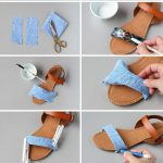 19 Interesting DIY Footwear Designs - well i liked the before design  better, but still.