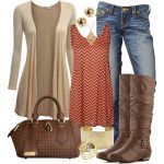 Unboring Fall and Winter Polyvore Ideas For Ladies (27)