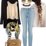 Unboring Fall and Winter Polyvore Ideas For Ladies (18)
