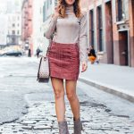 sydne-style-wears-booties-and-mini-skirts-for-fall-fashion-outfit-idea