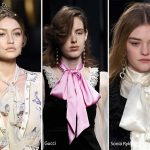 Fall/ Winter 2016-2017 Accessory Trends: Bow-Knot Scarves