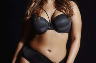 The plus-size retailer has helped Ashley become the most famous plus-size  model. In these photos, she is modeling the 2016 lingerie collection, and  boy,