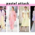 Summer fashion trends 2018: Pastel colours