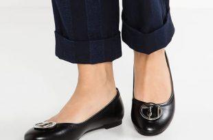 TRUSSARDI JEANS Ballet pumps - black Women Shoes,trussardi bags for  sale,professional online store