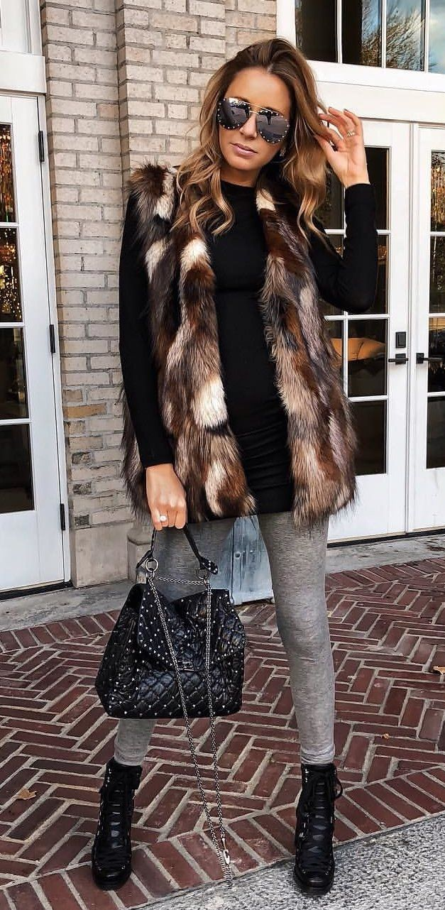 Fur Outfits For Fall-Winter