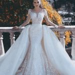 Glamorous Long Sleeve Lace 2019 Wedding Dress Mermaid On Sale