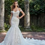 elegant glamorous mermaid wedding dresses 2018 eve of milady off the  shoulder sweetheart neckline full embellishment open back royal train