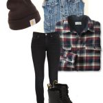 Grunge-Rock Winter Outfits For Women (7)