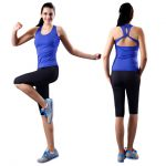 2016 New Yoga For Women Fitness Slim Running Clothes Gym Clothing Sports  Sexy Shirt Slimming Pants