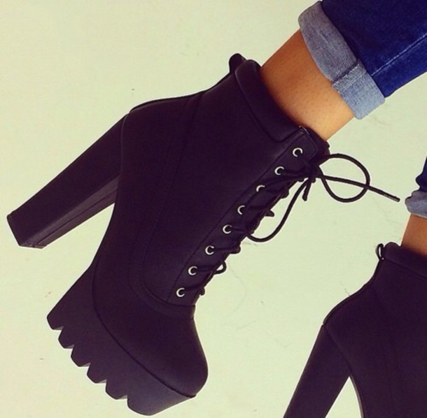 High Heel Boots For Fall