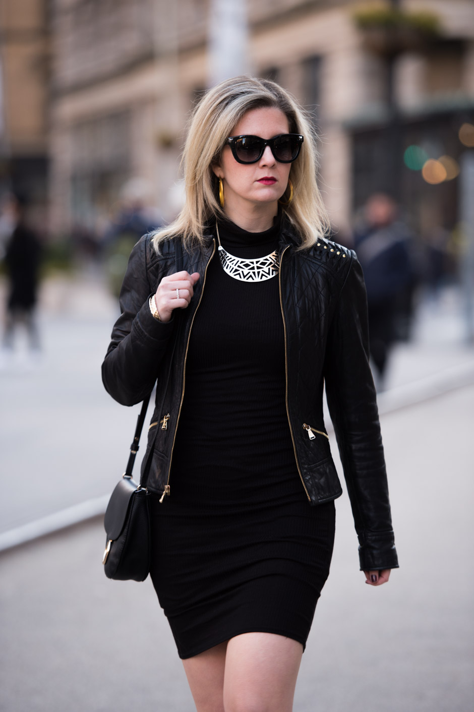 How To Layer Black Dresses